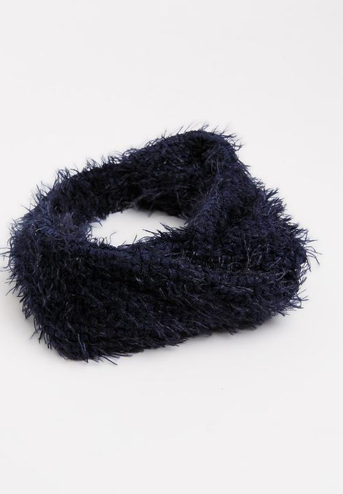 Fluffy Headband Navy Joy Collectables Fashion Accessories ... c7a2864d07d