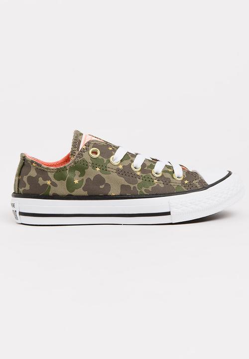 a7f4ef672636 Chuck Taylor All Star Khaki Green Converse Shoes