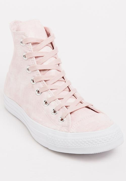 Chuck Taylor All Star Washed Sneakers Pale Pink Converse Sneakers ... 0023a7c20e71