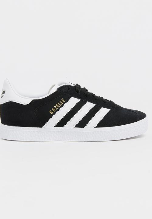 Gazelle C adidas - black/white/gold
