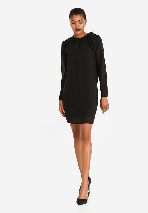 f85c8ed5558c Sille Long Sleeve Dress Black ONLY Casual | Superbalist.com