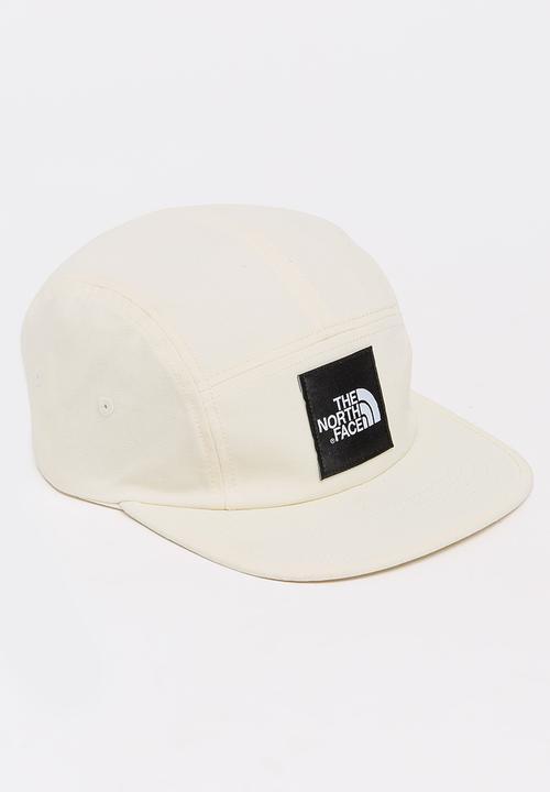 TNF 5 Panel Ball Cap White The North Face Headwear  f53b3c169bf