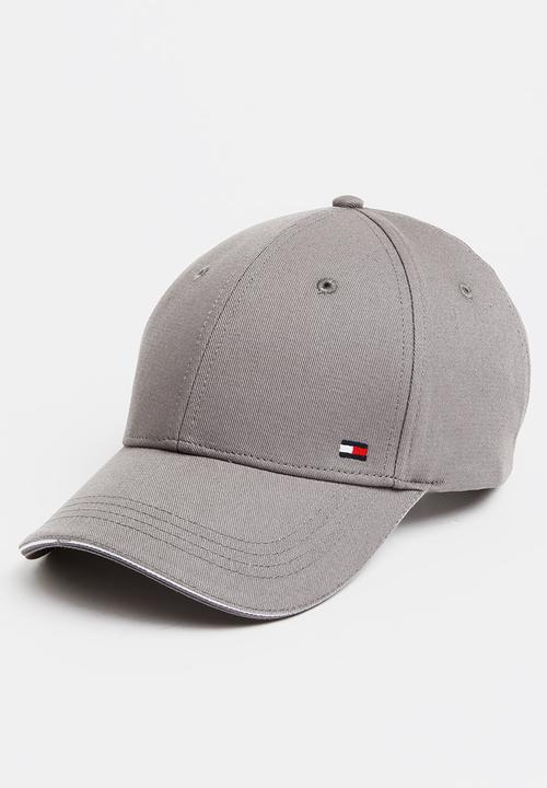 Corporate Cap Grey Tommy Hilfiger Headwear  d6e474460bd