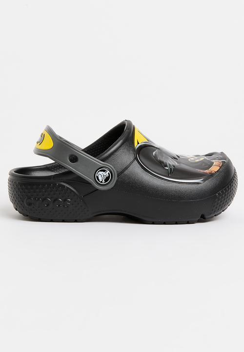 7ccdb22023ff81 Fun Lab Batman Clog Black Crocs Shoes