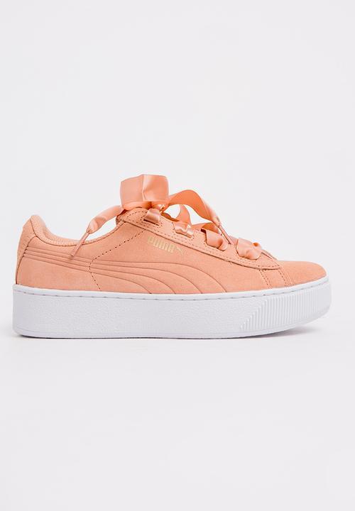 c4401524b1d Suede Platform Trace Sneaker Mid Pink PUMA Shoes