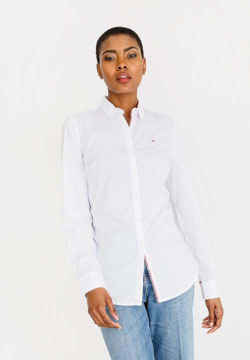 dba1bc953fd7 Slim Fit Shirt White Tommy Hilfiger Shirts