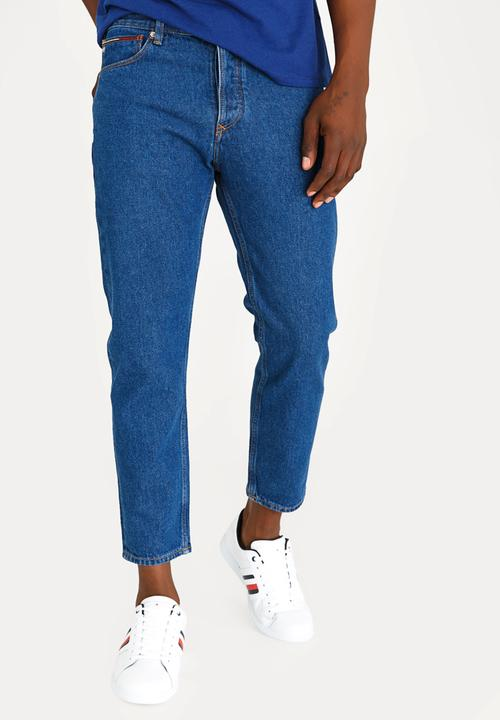 b32bfc6e91c4 Relaxed Cropped Denim Pants Blue Tommy Hilfiger Jeans | Superbalist.com