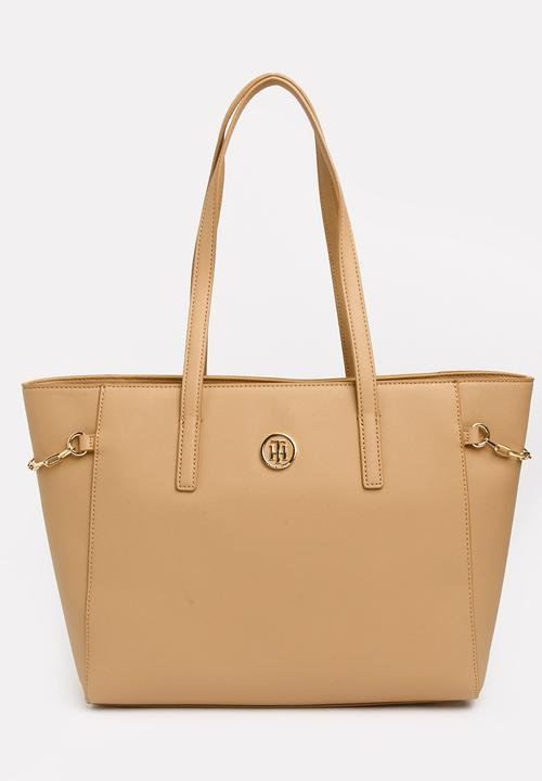 38dbf7f715b9b Chain Tote Bag Nude Tommy Hilfiger Bags   Purses