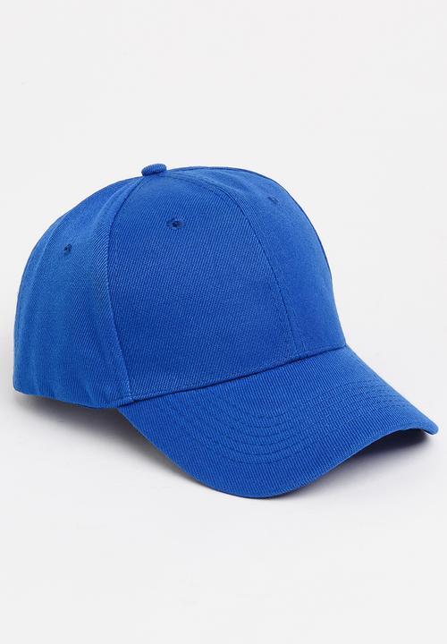 6d02e6abca9 Plain Cap Dark Blue STYLE REPUBLIC Headwear