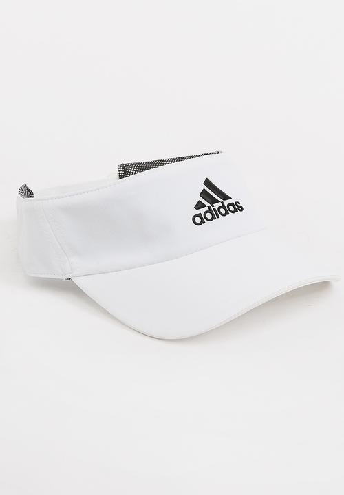 aee60d13 adidas Climalite Visor White adidas Performance Headwear ...