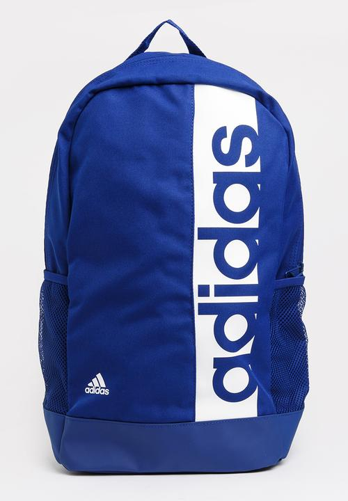 0557551ea8 adidas Linear Backpack Blue adidas Performance Bags   Wallets ...