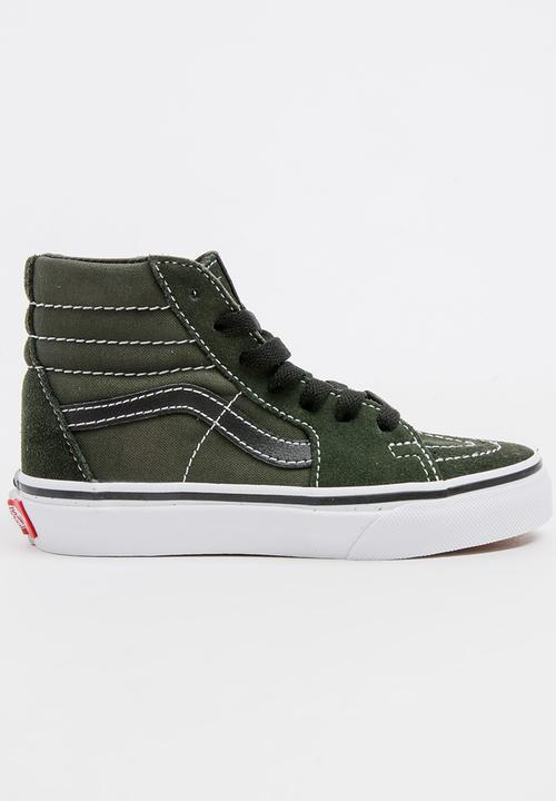 2e7a27824d0502 Sk8 High Top Sneaker Khaki Green Vans Shoes