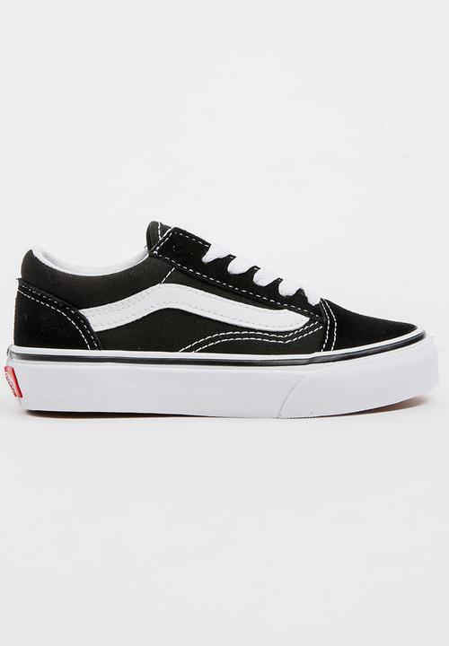 92d2b1b4cf9b Kids Vans UY Old Skool - black white Vans Shoes