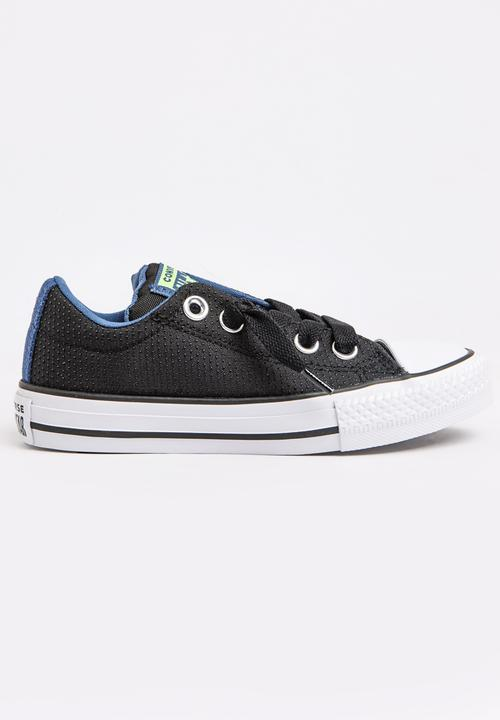 b95d17af85f Chuck Taylor All Star Street Slip Sneaker Black Converse Shoes ...