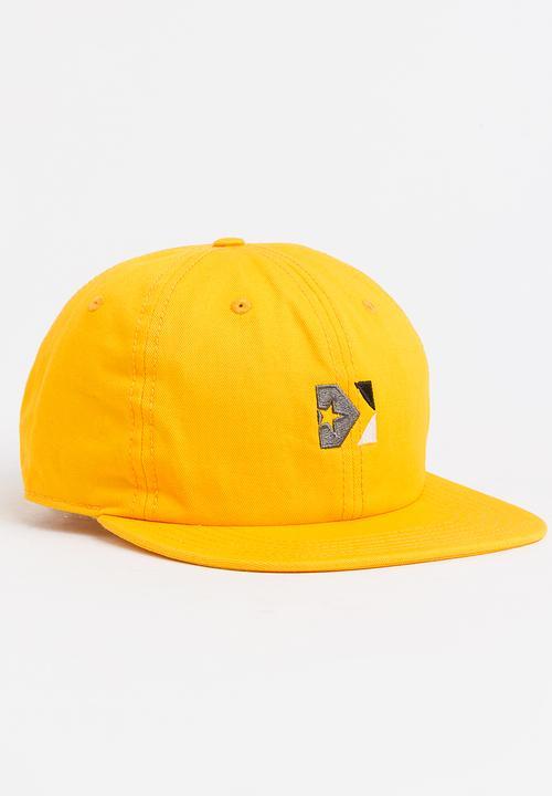 1e74b56da7e733 Star- Cheveron Box 533 Cap Yellow Converse Headwear
