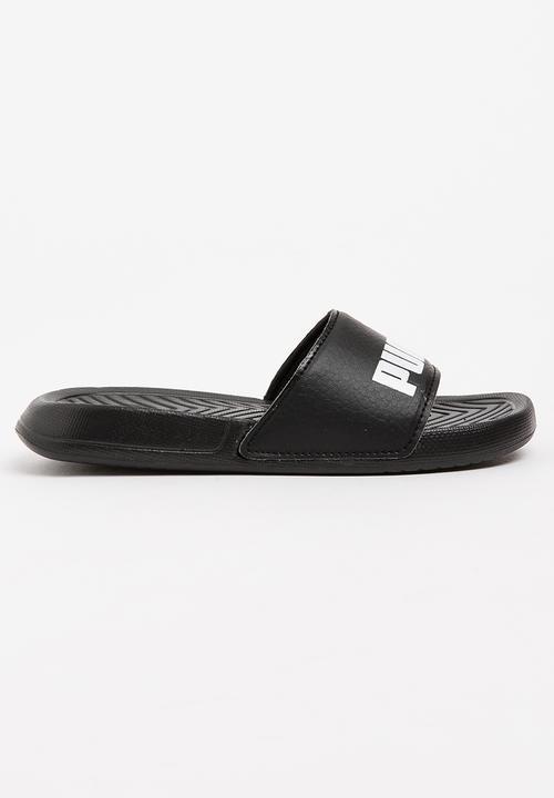 Puma Popcat Slide Black PUMA Shoes  20d406c5b