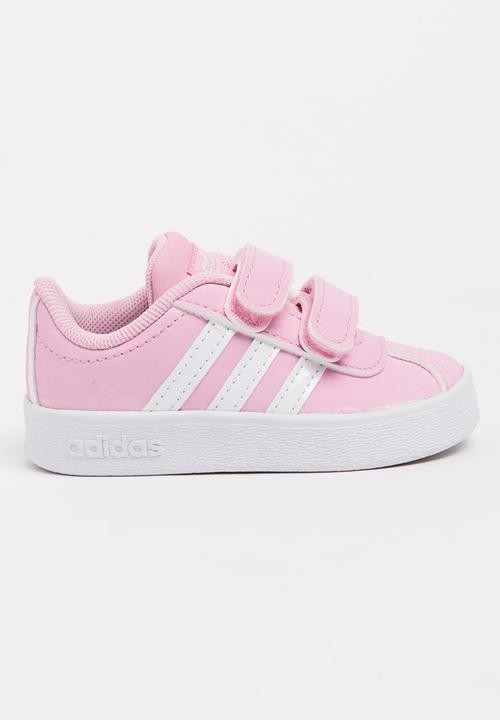 low priced f5985 d2746 adidas Performance - VL Court 2.0 CMF I Sneaker Mid Pink