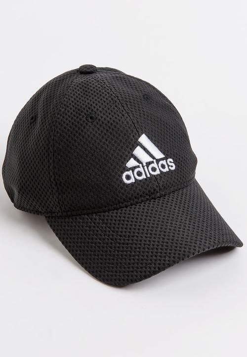 47daae3734a C40 6 Panel Climacool Cap Black and White adidas Performance ...