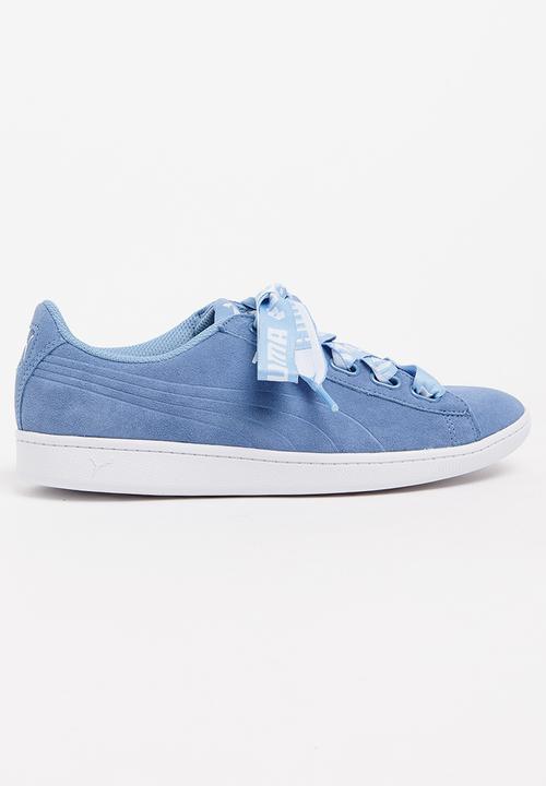 c6e6133cec58 Vikky Ribbon Bold Sneakers Blue PUMA Sneakers