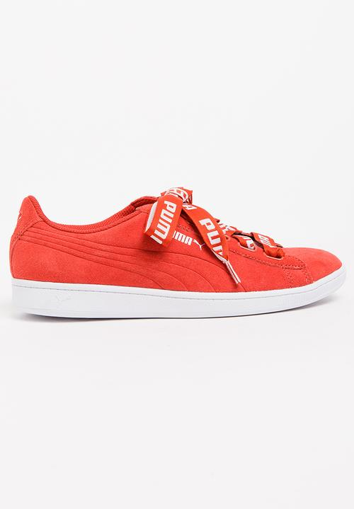 Vikky Ribbon Bold Sneakers Red PUMA Sneakers  5661f11a1