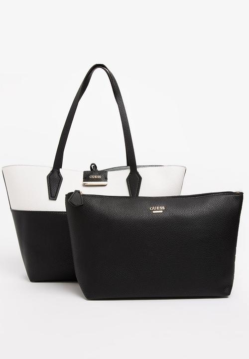 d03c3a6a3471 Bobbi Inside-Out Tote Bag Multi-colour GUESS Bags   Purses ...