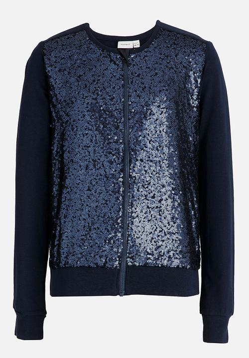 4209b9dc Sequin Jacket Dark Blue name it Jackets & Knitwear | Superbalist.com