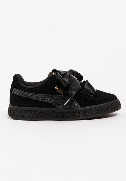 sale retailer 50c69 51da0 Puma Suede Heart SNK PS Sneaker Black