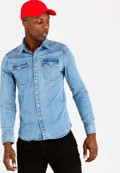 acec6dede7a Barstow Western Shirt Blue Levi's® Shirts   Superbalist.com