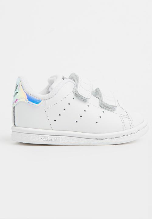 32f357c06e3 Stan smith cf i - metallic silver and white adidas Originals Shoes ...