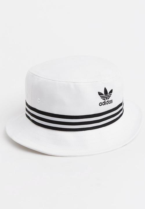 Bucket Hat White adidas Originals Headwear  8d2736dbb1c