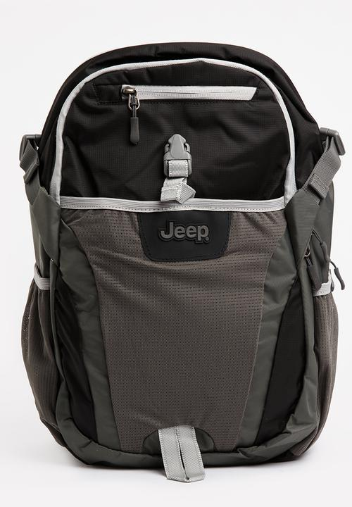 28a252786e 25L Back Pack & Laptop Pouch Blue and Grey JEEP Bags & Wallets ...