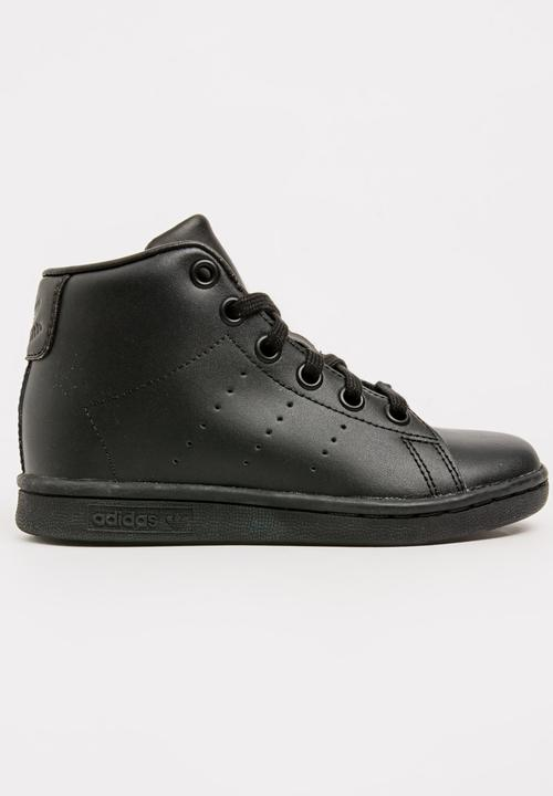 77188526d444 Stan Smith Mid Sneaker Black adidas Originals Shoes
