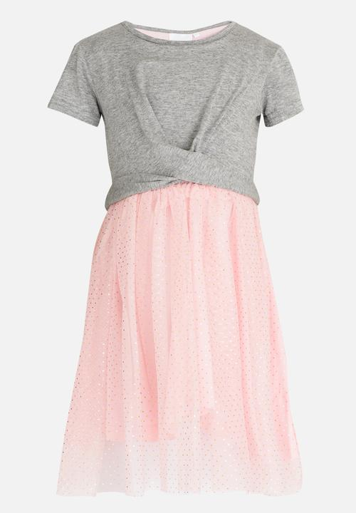 0a18a40ec10d Combo T-shirt Dress Pale Pink See-Saw Dresses   Skirts