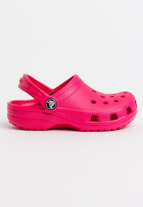Classic Clog Mid Pink Crocs Shoes