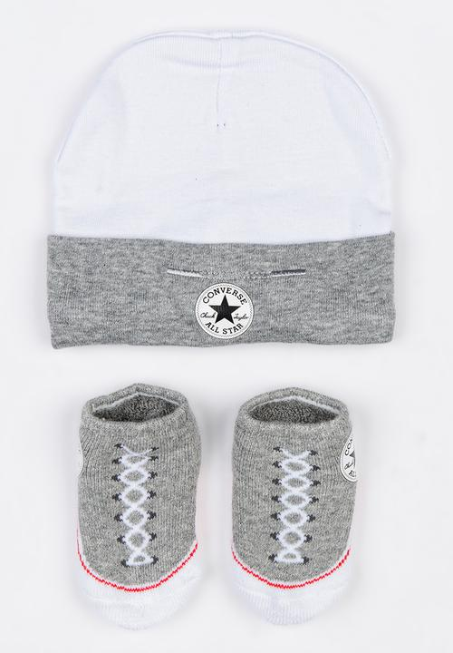 C.T.P. 2 Pack Hat   Bootie Set Dark Grey Converse Accessories ... e235866f5e