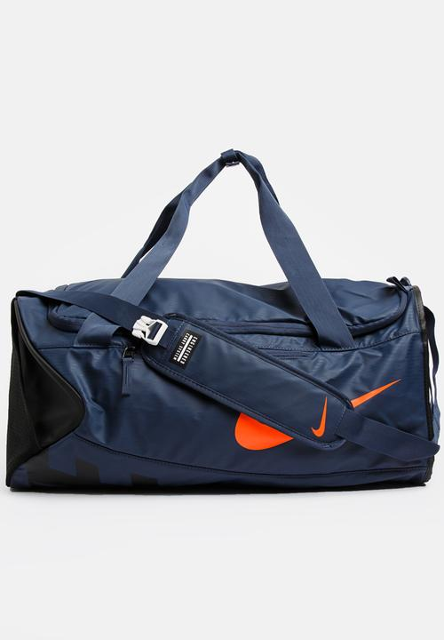 6c77263dfd66 Nike Alpha Duffel Bag Mid Blue Nike Bags   Wallets