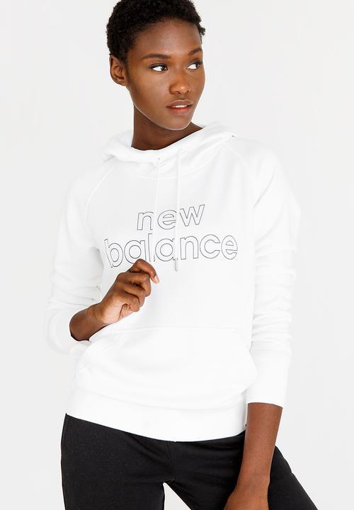 0f479d7e7cf04 Essential Hoody White New Balance Hoodies & Sweats | Superbalist.com