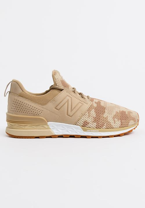 1775b3b3be2 574 Sport Camo Pack Sneakers Beige New Balance Sneakers ...