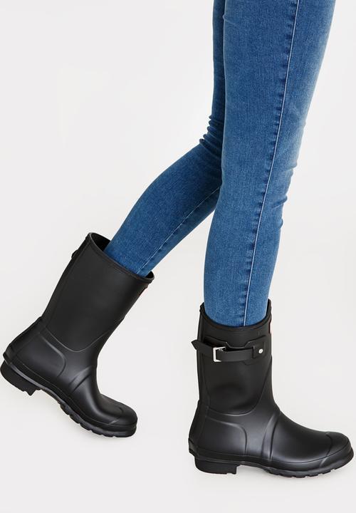 Hunter - Original Short Hunter Boots Black