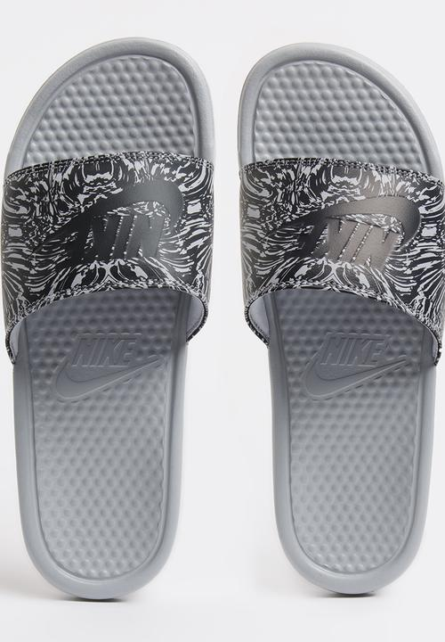 a007355cb17f2d release date nike tanjun womens sandal 53f94 fd5d3  promo code for nike nike  benassi just do it print sandals mid grey a7b4a 0f206