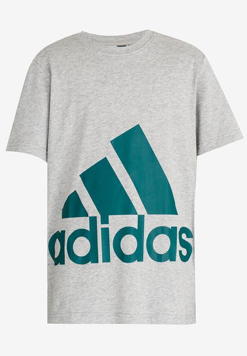 0aaa3db52218e9 Big Logo Tee Mid Grey adidas Performance Tops | Superbalist.com