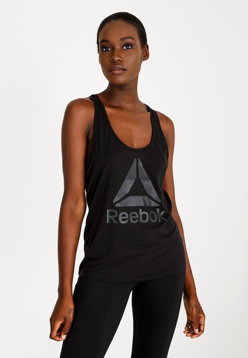 78466a8603d65d Workout Ready Tank Top- Black Reebok T-Shirts