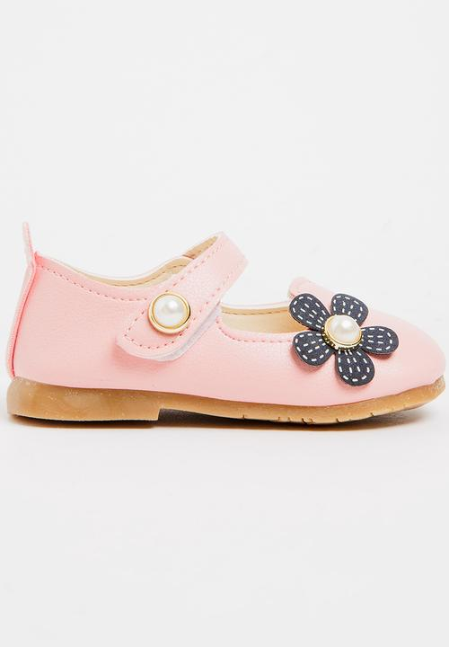 b23a3cd99661 Flower Printed Pump Mid Pink POP CANDY Shoes