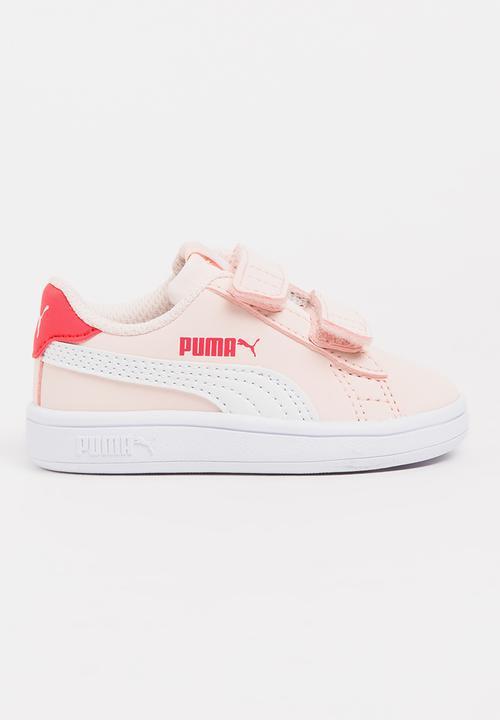 53a394e3d0a9dc Puma Smash V2 Buck V Sneaker Pale Pink PUMA Shoes