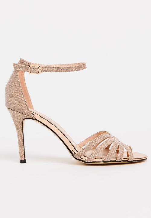 dce38ba6ecc Ankle-strap Heels Neutral