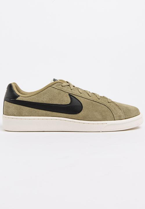 quality design 45b0c 4c684 Nike - Nike Court Royale Suede Sneakers Khaki Green