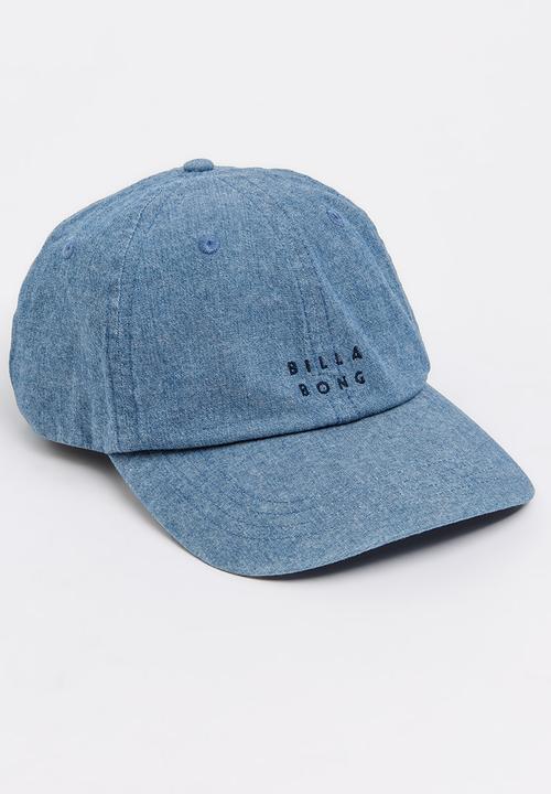 Billabong Denim Lad Cap Dark Blue Billabong Headwear  d3c5efdebbd5