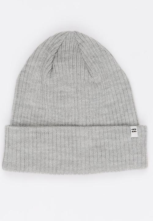 10ea4139baa Billabong Arcade Beanie Grey Billabong Headwear