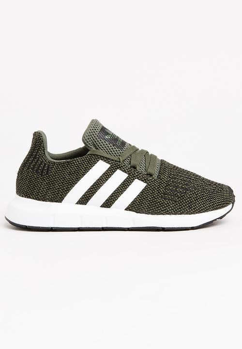 d63e3f8229c Swift Run J Sneaker Dark Green adidas Originals Shoes