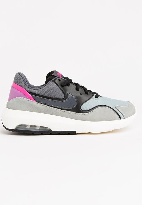 abeda1d424e1 Nike Air Max Nostalgic Sneakers Black and Grey Nike Sneakers ...